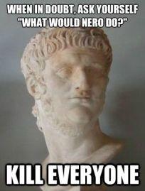 Emperor Nero meme