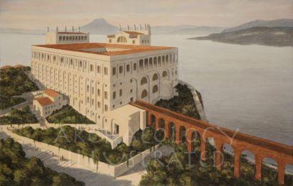 Tiberius' villa in Capri