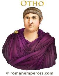 Marcus Salvius Otho, Roman emperor 69AD, former husband of Poppaea