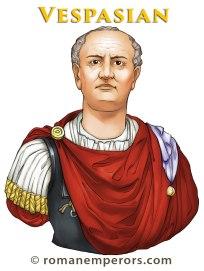 Emperor Vespasian (r. 69-79AD)