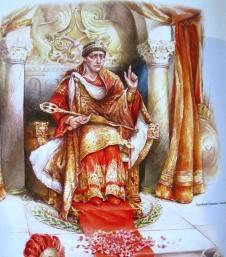 Emperor Theodosius I the Great (r. 379-395)