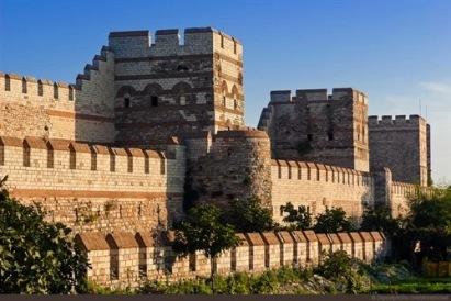 Walls of Theodosius II today