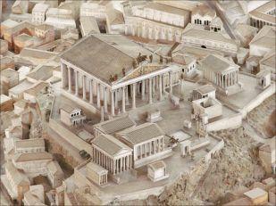 Capitolium at Rome's Capitoline Hill