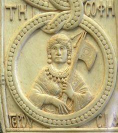 Sculpture of a Byzantine Consul