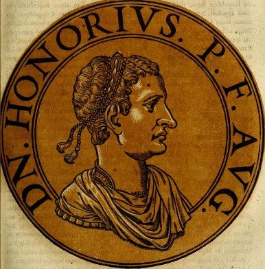 Honorius, Emperor of the West (r. 395-423), son of Theodosius I