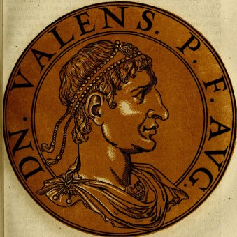 Valens (r. 364-378), Emperor of the east, brother of Valentinian I