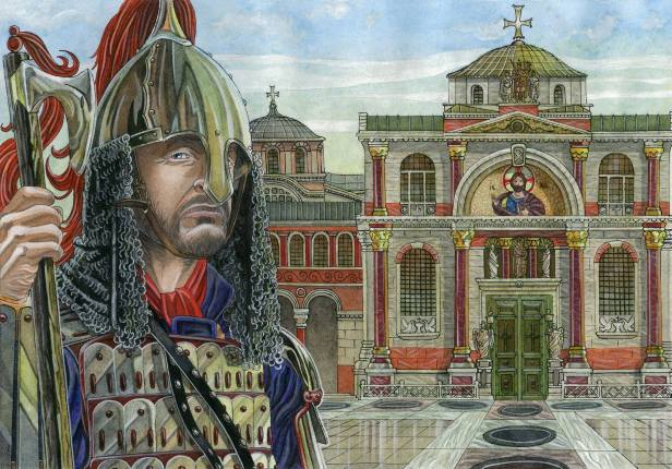 A Varangian in 11th century Constantinople