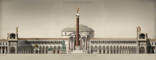 Senate House in the Forum of Constantine