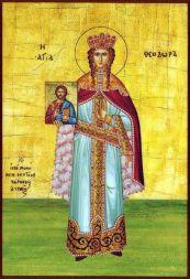 Empress Theodora (815-867), restorer of the icons