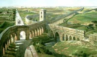 Aqueducts leading to Rome