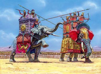 Seleucid Empire war elephants