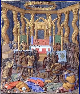 Pompey captures Jerusalem, 63BC