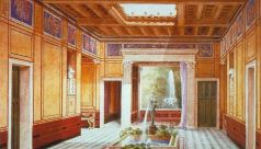 Roman villa interior