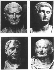 69AD- Year of the 4 emperors Galba, Otho, Vitellius, and Vespasian