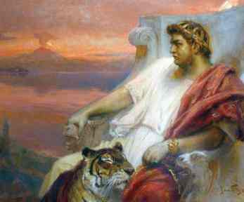 Emperor Nero (r. 54-68AD)