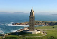 Roman Lighthouse of Hercules, Galicia, Spain