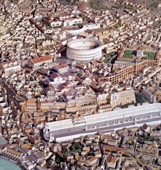 Rome, Caput Mundi of the Roman World