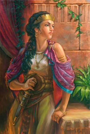 Empress Zenobia of Palmyra (r. 272)