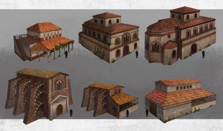 Byzantine house types