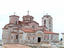 Byzantine church in Ohrid, Macedonia