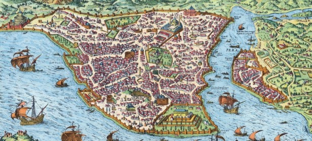 Constantinople, capital of the Byzantine Empire since 330