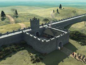 Hadrian's Wall, Great Britain