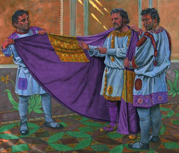 Coronation of Anastasius I, 491