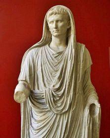 Augustus as Pontifex Maximus or Chief Priest