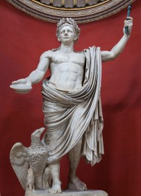 Emperor Claudius I as the god Jupiter