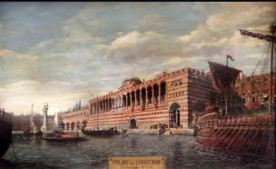 Boukoleon Palace of Constantinople along the Marmara Sea