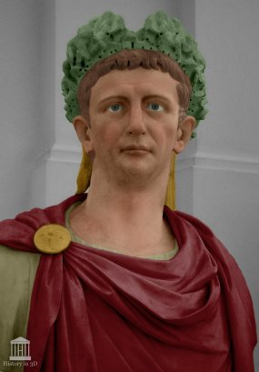 Emperor Claudius I (r. 41-54AD)