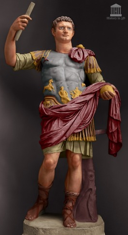 Emperor Domitian (r. 81-96AD)