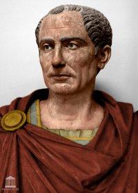 """Gaius Julius Caesar (100-44BC), first to use the title """"Imperator"""", Dictator of Rome (48-44BC)"""