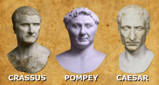 The First Triumvirate- Crassus, Pompey, and Caesar (60-53BC)