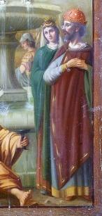 Emperor Leo I (aka Leo Marcellus) and wife Aelia Verina