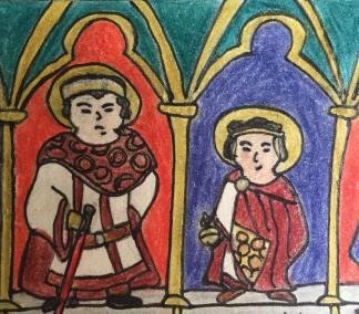 Co-emperors Zeno and son Leo II (r. 474)