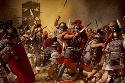 Roman conquest of Gaul, 50s BC