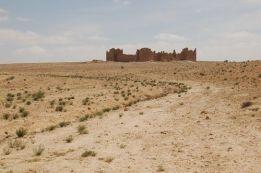 Roman fortress in the Arabian desert Limes