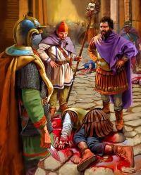 Septimius Severus wins battle over Clodius Albinus in Gaul, 197