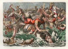 Death of Decius in the Battle of Abritus against the Goths, 251
