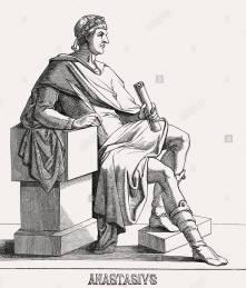 Emperor Anastasius I (r. 491-518), Illyrian born Roman