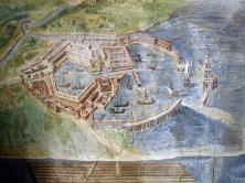 Fresco of the Port of Ostia