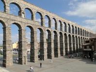Roman aqueduct of Segovia, Spain