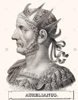 Emperor Aurelian (r. 270-275), restorer of the world (Restitutor Orbis)