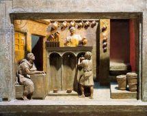 Frieze of a Roman wine shop
