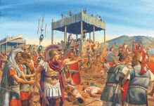 Battle of Philippi, 42BC, defeat of the Republic