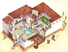 Roman countryside villa for the elite