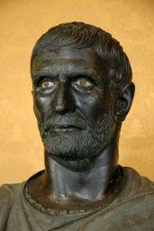Marcus Junius Brutus, founder of the Roman Republic in 509BC