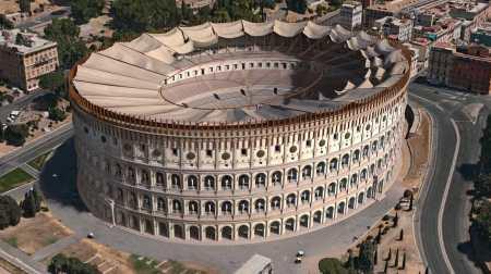 Flavian Amphitheatre (Colosseum), finished under Titus