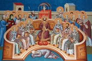 Constantine the Great at the Council of Nicaea, 325